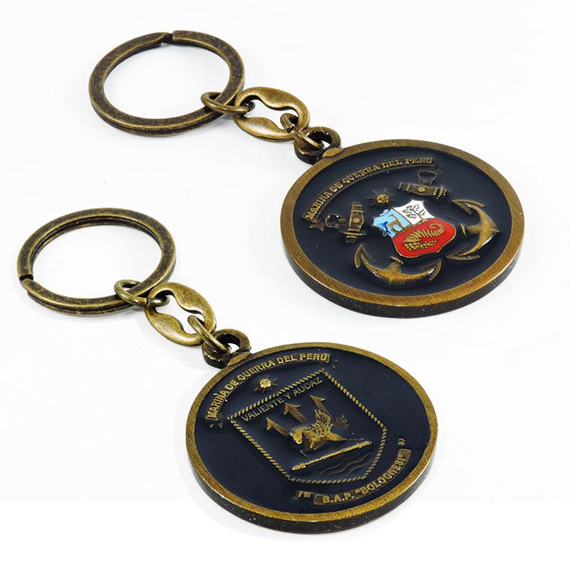a974a6856934 Llavero escudo BAP Bolognesi y Marina de Guerra del Perú